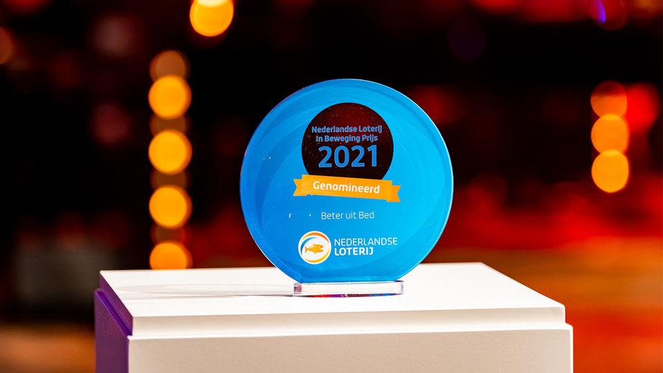 Nederlandse Loterij in Beweging Prijs genomineerd