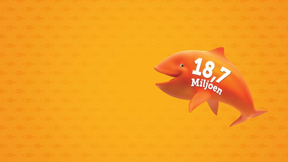 Mega Jackpot 18,7 miljoen